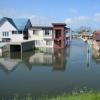 検証~台風の爪痕/その時、何が起きたのか(5)「低地の水、行き場失う」