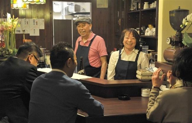 喫茶店「アドリア」半年ぶりに営業再開 店主の丹羽さん火事で大やけど