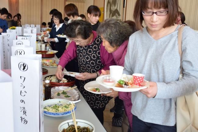 地場食材で家庭料理コンテスト 幕別忠類女性まつり