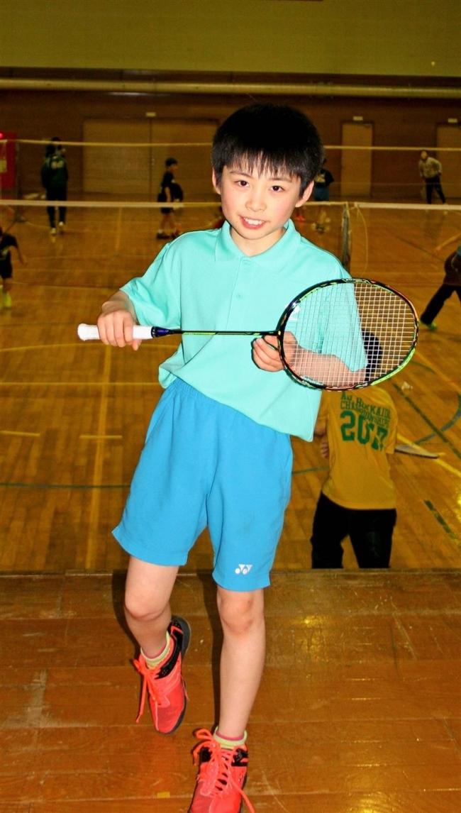 明星小の澤田、Jr.U13日本代表入り バドミントン