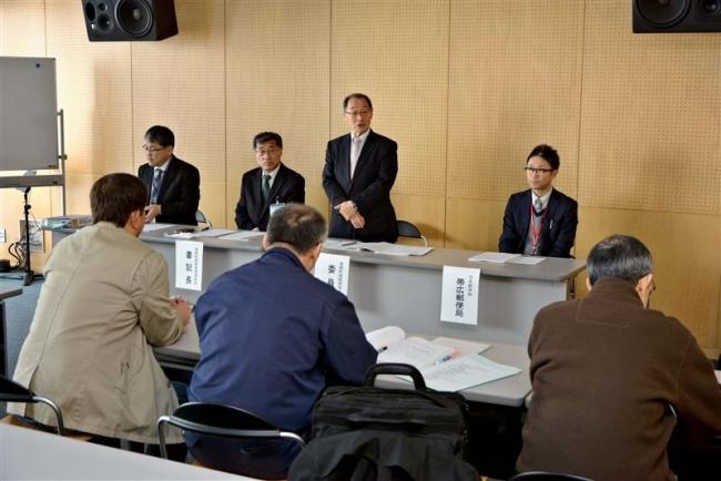 現職陣営のみ参加 豊頃町長選立候補予定者説明会