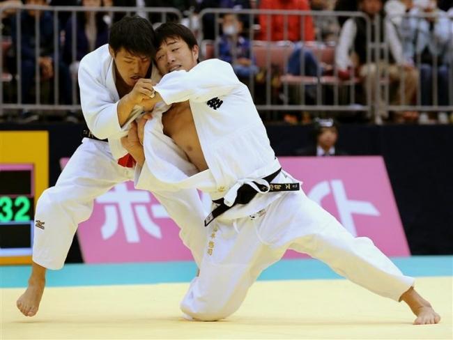 全日本体重別柔道、山本と林は1回戦で反則負け