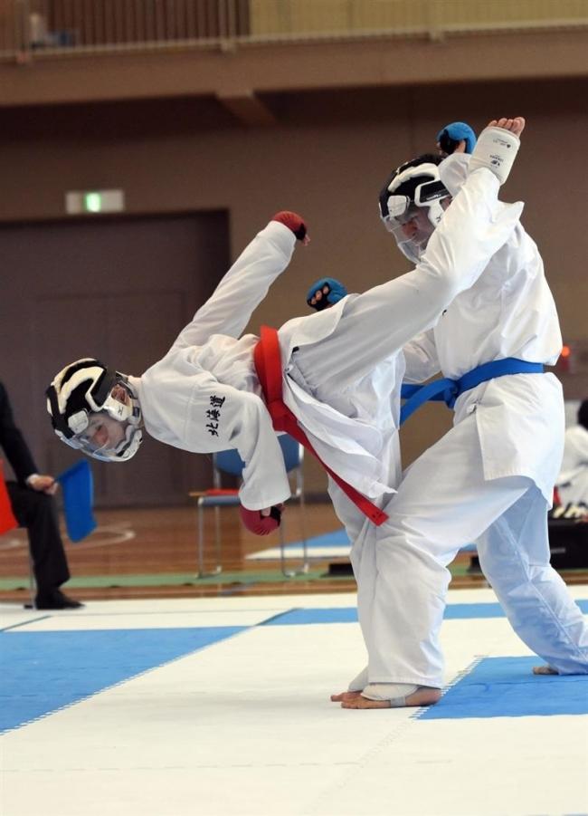 組手で山田、鈴木が2冠 和道流空手道十勝地区選手権大会