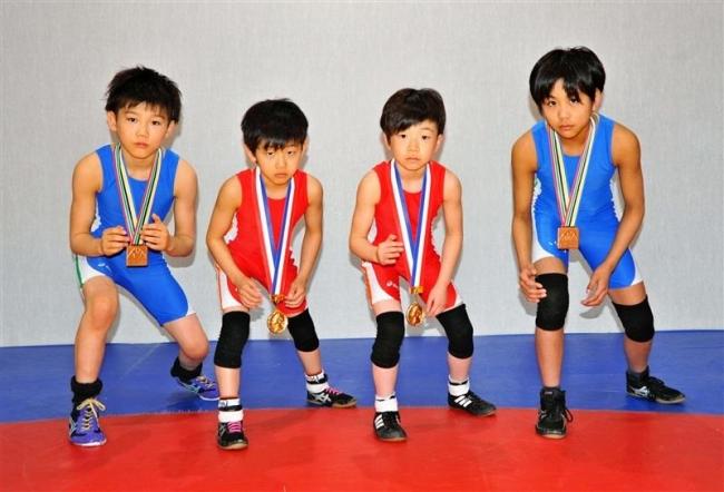 帯広レスリングクラブの4選手全国大会で活躍