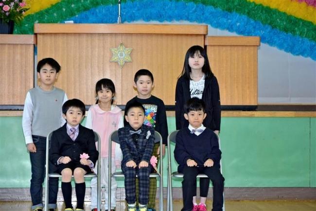 2人入学で全児童7人に 豊頃大津小 「遊びが楽しくなる」