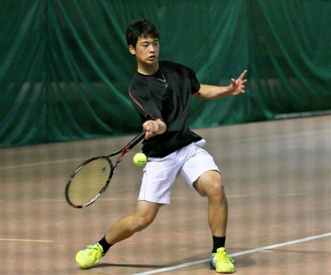 北海道・十勝オープンテニス開幕 十勝関係3選手出場