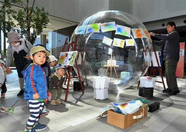 アートや折り紙多彩に 市民芸術祭が開幕