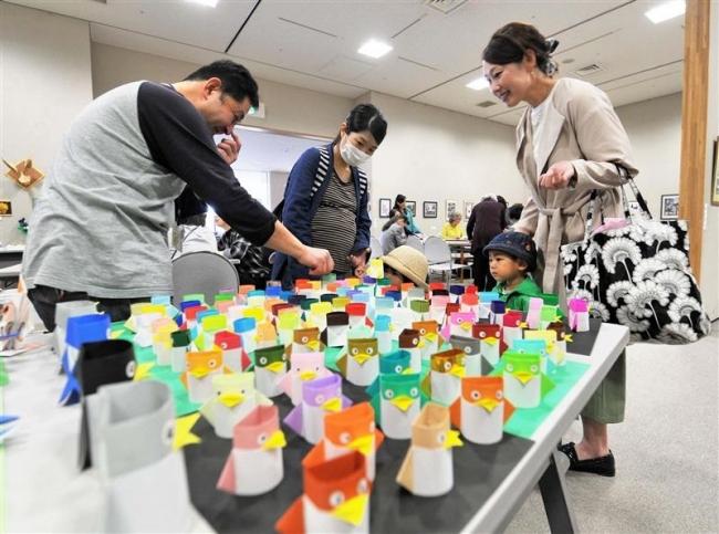 展示部門でスタート おびひろ市民芸術祭開幕