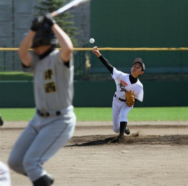 札内東3年ぶりV おおさかスポーツ杯中学校野球大会