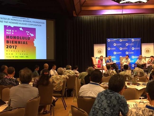 ハワイ交流拡大探る 経済サミット開幕