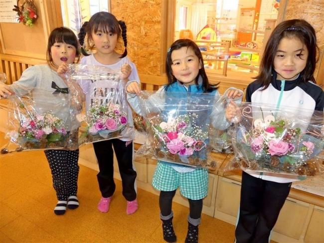 母の日のプレゼントに 新得・生け花体験教室