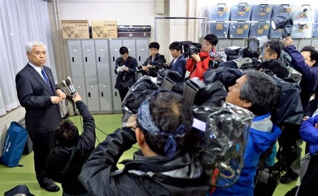 高橋本別町長が陳謝 元職員逮捕を受けて会見