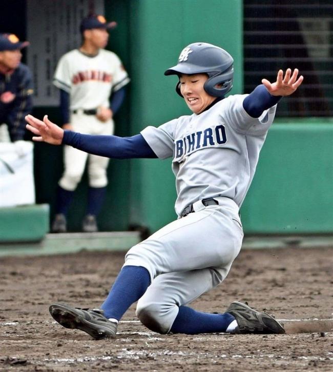 帯工好機に集中打準々決勝へ、春季道高校野球支部予選