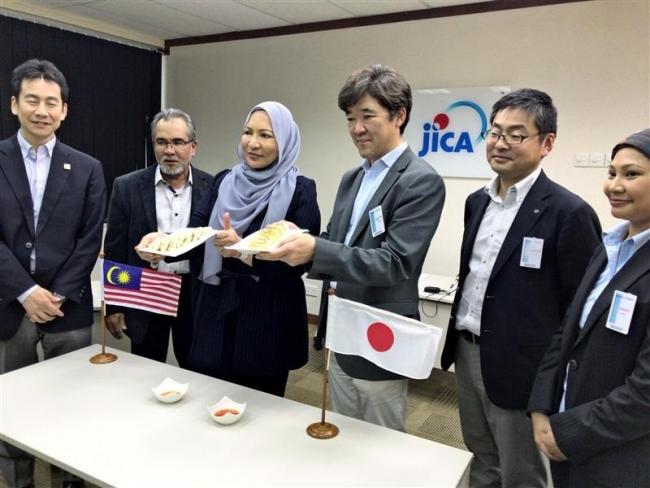 ハラルギョーザ製品化 とかち製菓