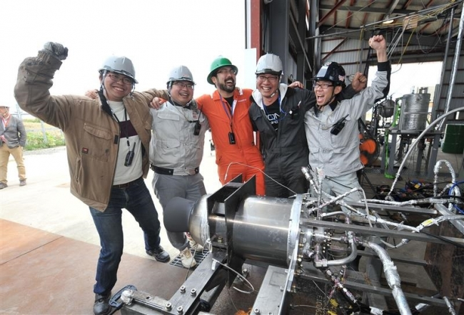 推進剤供給同型でも成功 ISTエンジン燃焼試験