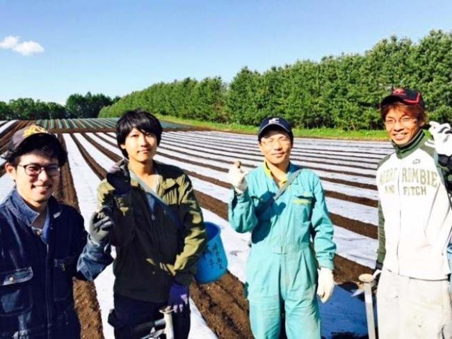 落花生を本格栽培 芽室・上伏古の若手農業者4人