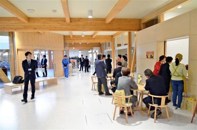 生涯学習センター「わっか」の落成祝う 上士幌