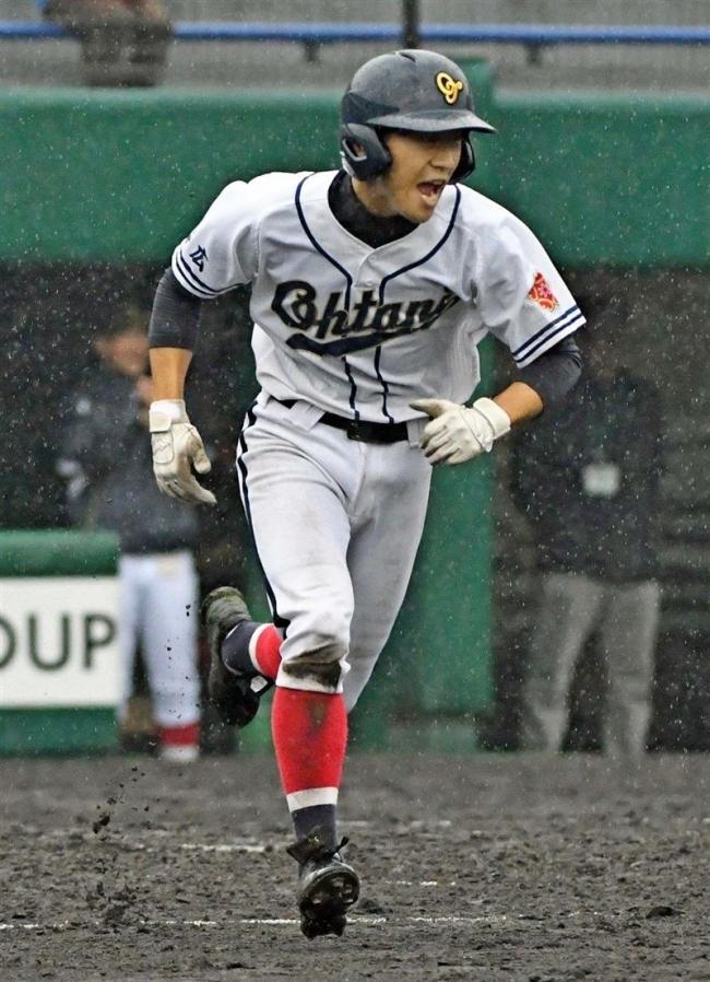 帯大谷リードも降雨あす再試合、春季道高校野球2回戦