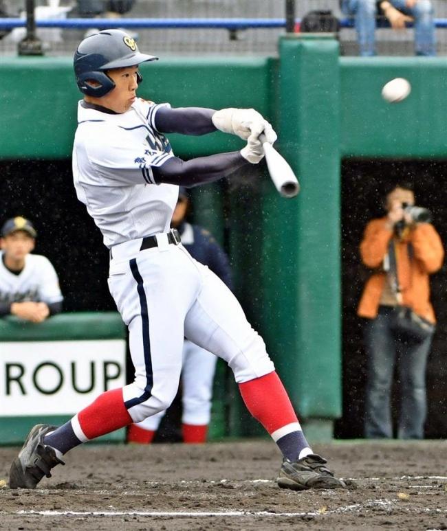 帯大谷リード長谷川先制本塁打、春季道高校野球準決勝
