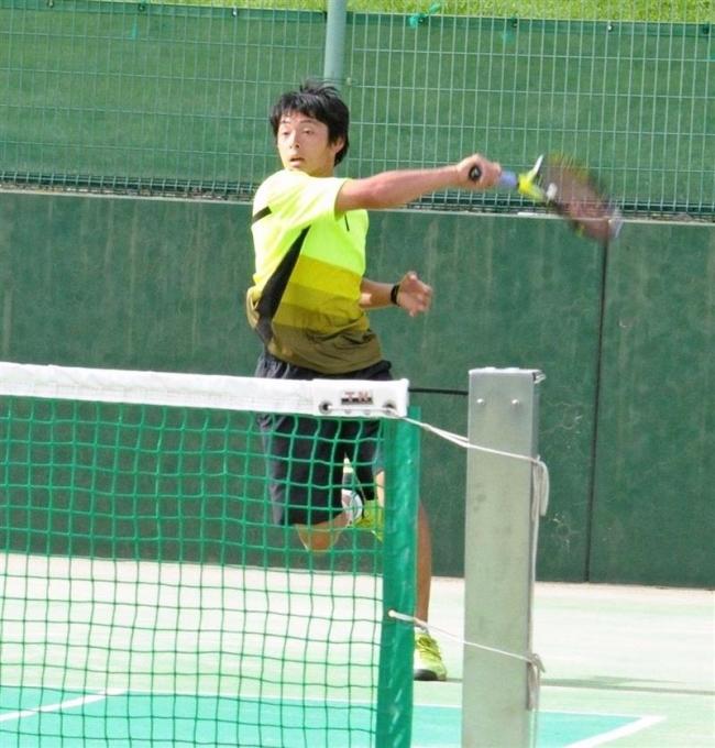 窪田と森下18歳以下V ジュニアテニス道東予選