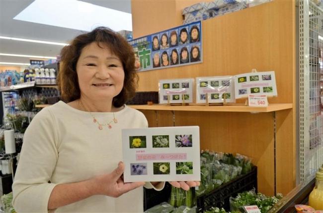 野菜の花の本出版 士幌・上居辺の増田喜代美さん