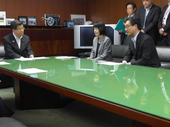 5原則を確認 米沢市長、国交相らで空港民営化会議