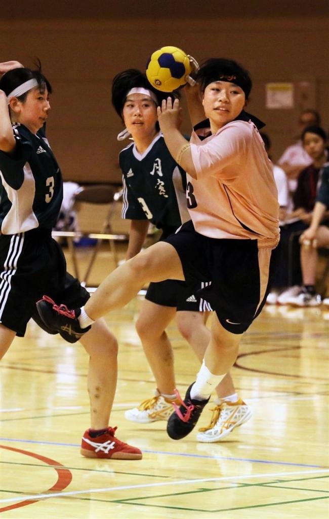帯三条女子全道負けなしV 男子3位高体連ハンドボール