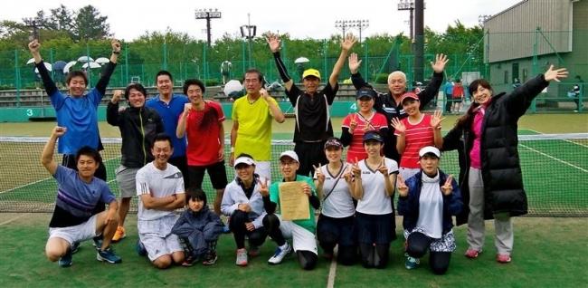 都市対抗テニス 帯広市2年ぶり5度目全日本出場権