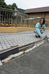 麻酔銃手に暗い園内へ 地震被災 熊本動植物園 動物園のあるまちプロジェクト