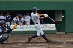 池田、帯柏葉コールド発進 夏の高校野球支部予選開幕