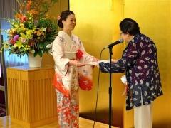 渡辺さんに新人賞 日本伝統俳句協会賞授賞式