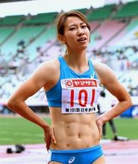 福島女子200メートル5位7連覇逃す、日本陸上選手権