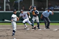 帯緑陽、帯三条圧勝コールド 高校野球十勝支部予選