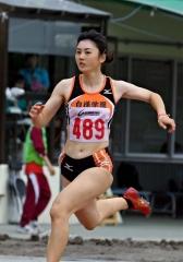 小玉走り幅跳びと100メートルで2冠、十勝陸上選手権