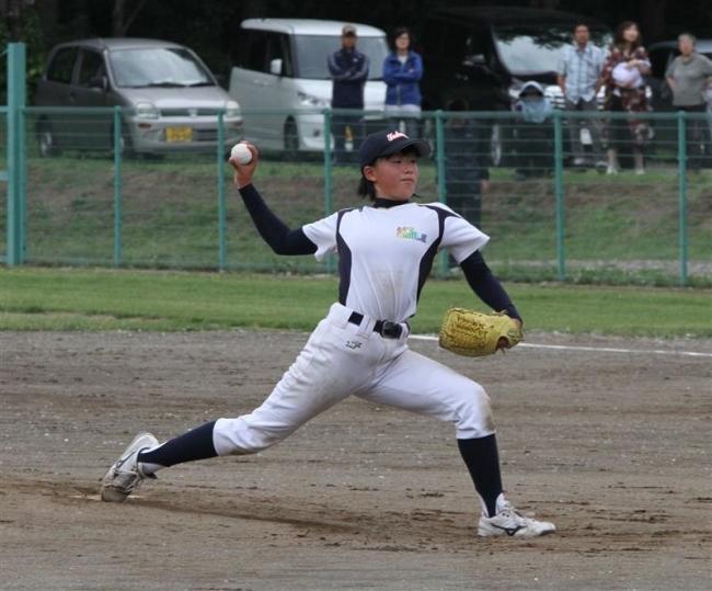 とかちスマイルレインボー初V全国へガールズ野球予選