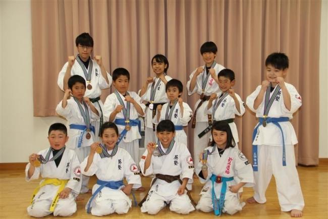 十勝勢5選手全日本ジュニアへ フルコンタクトカラテ