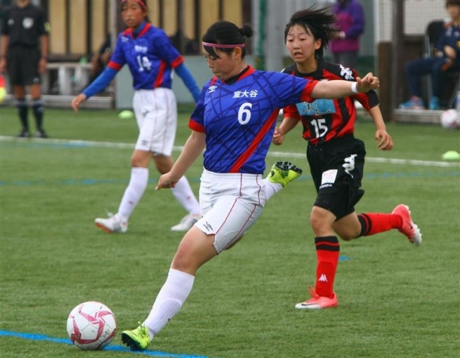 女子サッカー十勝出身の西村笑理菜、室大谷高で活躍