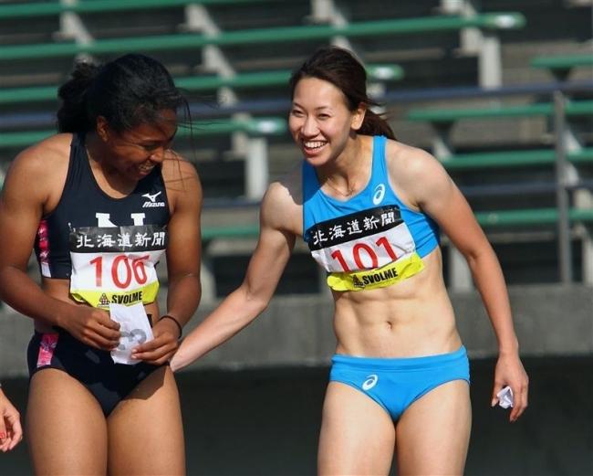 福島100メートル今季最高V幅跳び小玉銀、南部記念陸上
