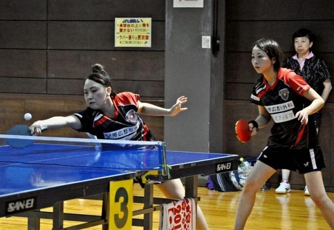北海道アスティーダV 全十勝レディース卓球