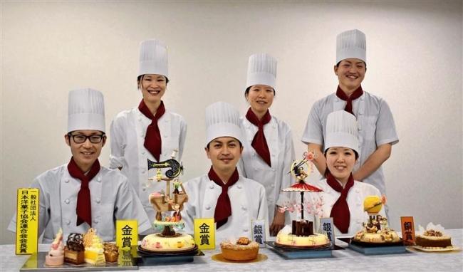 北海道洋菓子作品コンテスト 柳月から6人入賞
