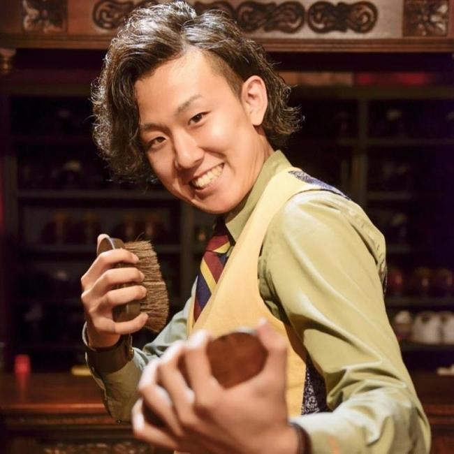 靴磨き職人の佐藤我久さん、8月19日に古里でワークショップ