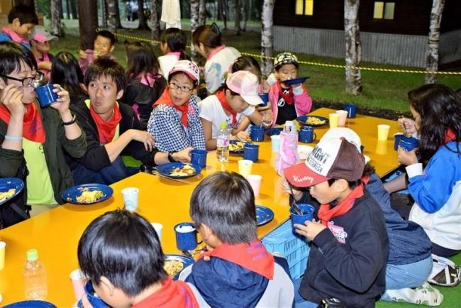 本州の児童とキャンプ交流 陸別・サマーイン