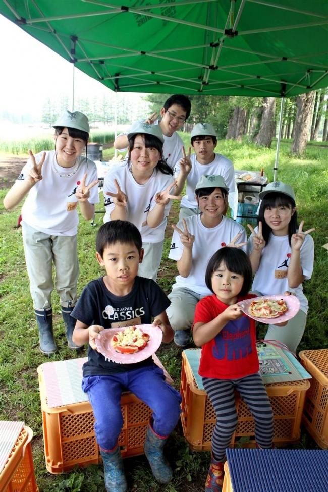農業高が畑を案内 近隣児童招き