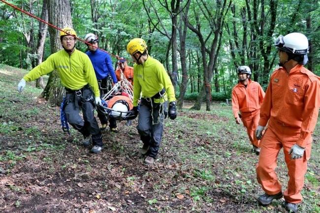 トムラウシ山遭難事故想定し訓練 新得消防署