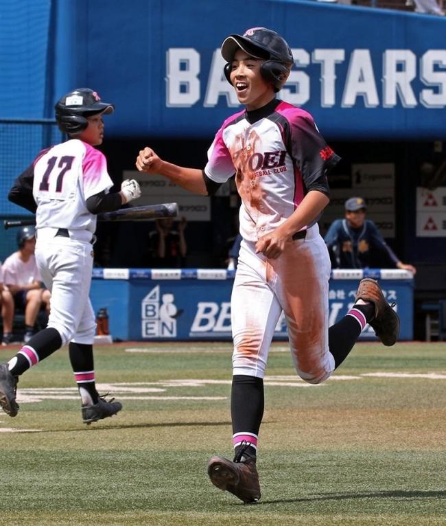 音更共栄中初戦突破8強入り 全日本少年軟式野球大会