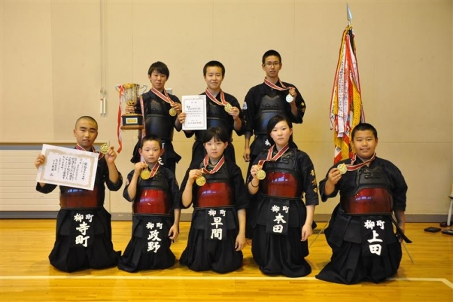 音更柳町剣道少年団、全道2大会で優勝など活躍