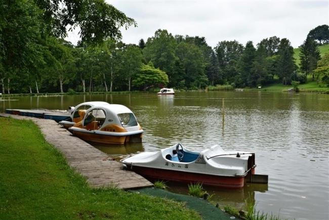 清水公園、食の拠点に 阿部町長が再開発構想