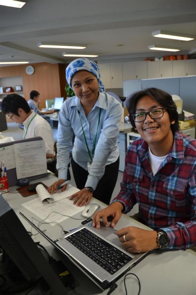 タイの大学生が十勝農業学ぶ 長期インターンシップで