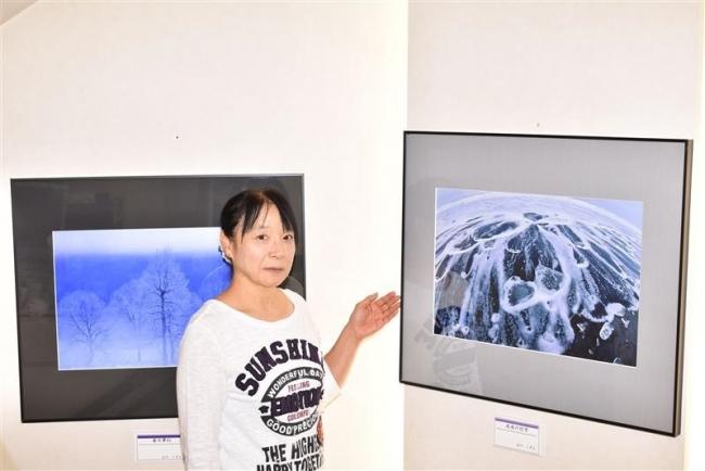 大樹の写真家古川さん作品展 空港ギャラリー