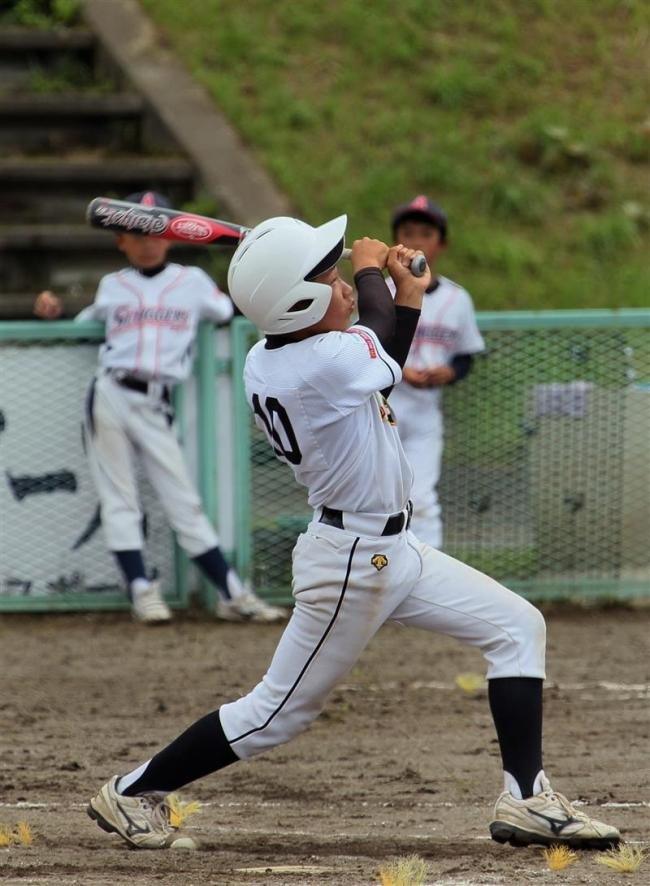 稲田タイガース優勝 えだ豆旗争奪少年野球大会